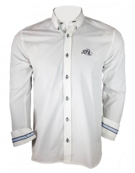 Chemise manches longue blanche - Barbarians